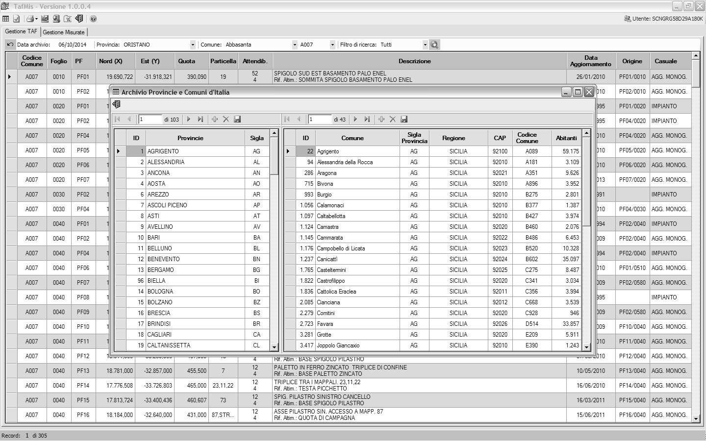 News Tafmis Nuovo Software Di Gestione Pf Geolive
